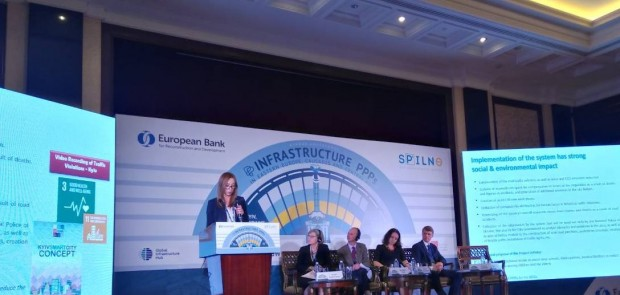 AT THE GLOBAL PPP CONFERENCE THE CAPITAL HAS PRESENTED THE PROJECT ON ENHANCING THE ROAD SAFETY IN KYIV