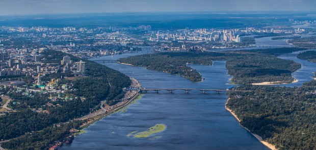 Preparing a competition to attract investors to create a network of stations for water sports in Kyiv