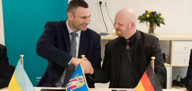 In Berlin Klitschko signed Memorandum on Cooperation to further implement Kyiv Smart City projects