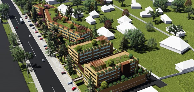 An investment agreement for the construction of a residential building with social and cultural facilities have been signed