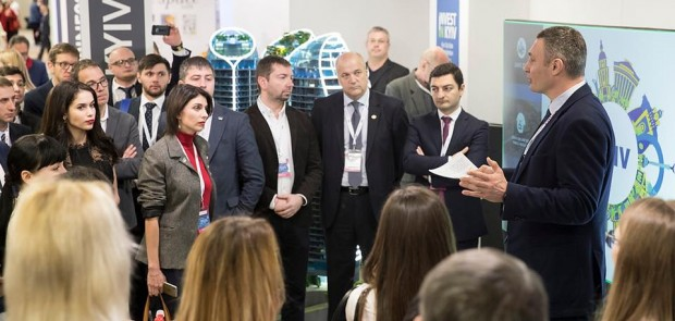 Klitschko represented the capital of Ukraine at property conference MIPIM in Cannes