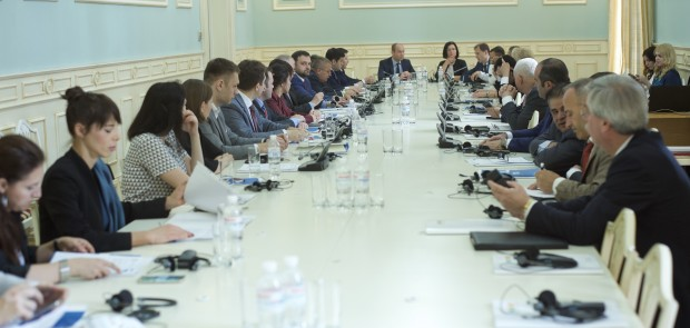 This year's Investment Forum of Kyiv, which will be held in September, was presented to the diplomatic corps