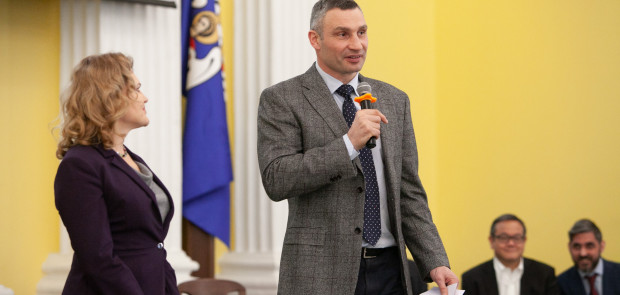 Vitaliy Klitschko took part in the presentation of the Kyiv Global Business Tech Incubator