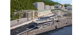 CREATION OF ENGINEERING AND TRANSPORT INFRASTRUCTURE CABLE CAR LINE WITH PUBLIC FACILITIES