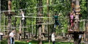 "Construction of the rope park on the territory of the regional landscape park ""Partisan Glory"" in Darnytskyi district of Kyiv"