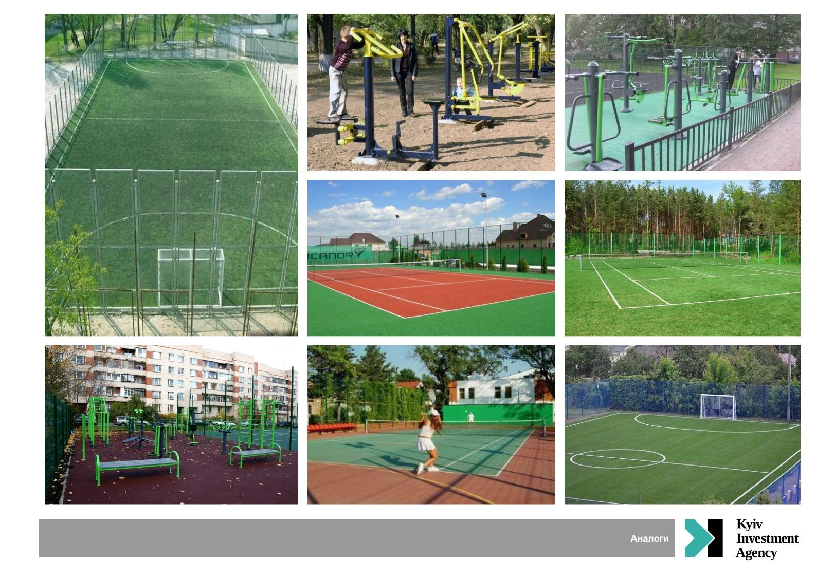 IMPROVEMENT OF SPORT PLAYGROUND IN THE PARK «NYVKY»  in Shevchenkivs'kyi district of Kyiv