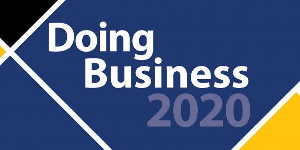 Ukraine has improved its position by 7 points in the Doing Business-2020 ranking and has been ranked 64th among 190 countries