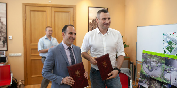 Vitaliy Klitschko signed an agreement with the IFC on the development of a high-speed transport corridor